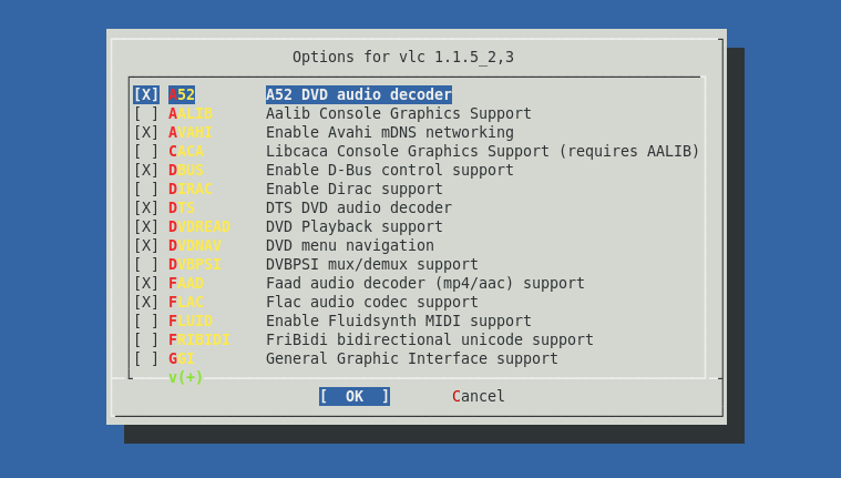 Installing VLC on FreeBSD 8 1 – Johnson's Blog