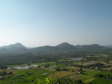 View from Gingee Fort