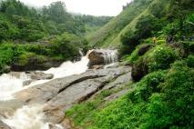 Aattukadu Waterfalls near Munnar