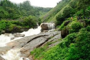 Aattukadu Waterfalls near Munnar