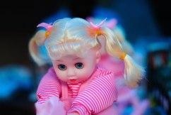 Doll at a shop near Echo Point, Munnar