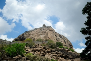 Gingee Fort on Top of the Hill, Gingee