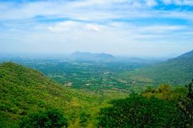 View from Kolli hills near Namakkal