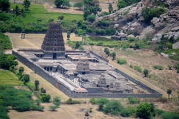Temple In Gingee Fort, Gingee