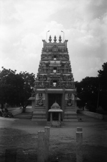 Temple along road from Madurai to Trichy